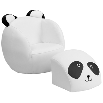 MFO Kids Panda Chair and Footstool