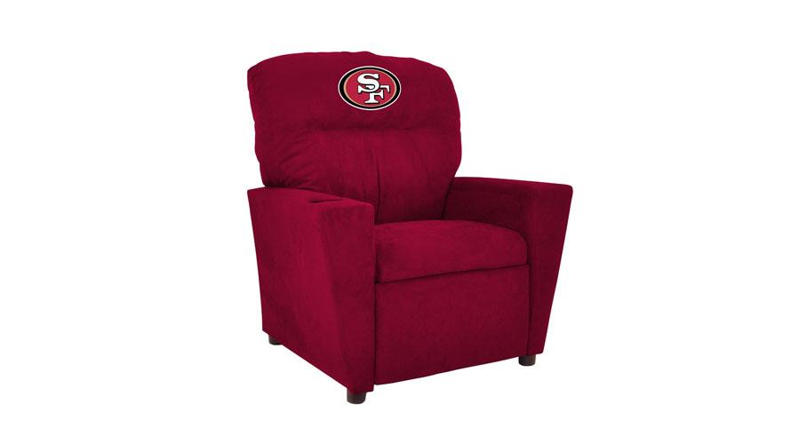 Kids NFL Recliner (San Francisco 49ers)