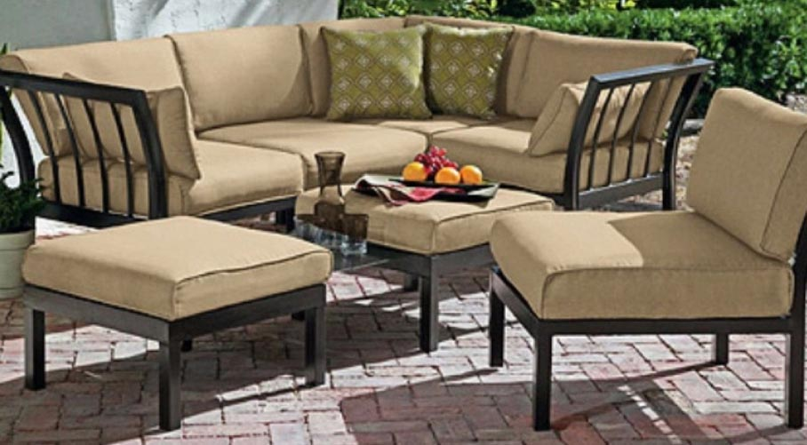 Outdoor Patio Sofa Set; Outdoor Patio Sofa Set ...