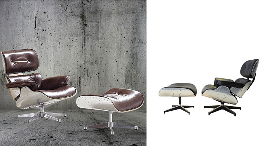 Aluminum Aviator Lounge Chair