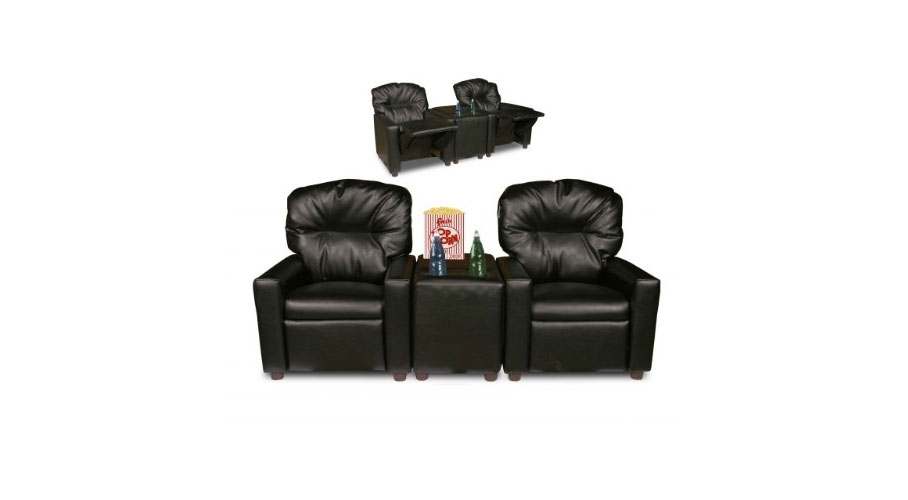 2 Seater Child Theater Recliner Chairs