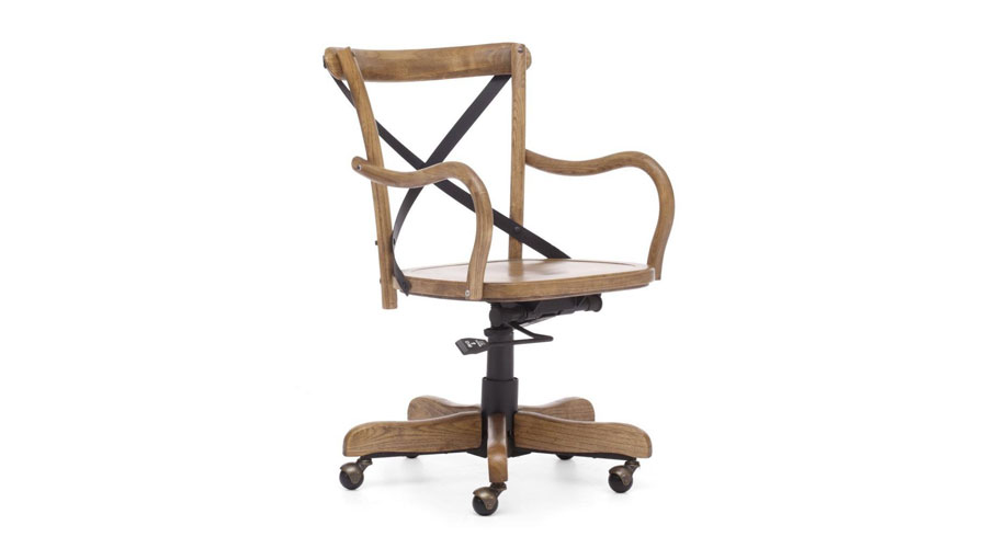 french cafe style office chair really cool chairs