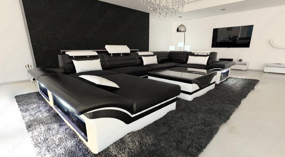 Big Leather Sofa ENZO