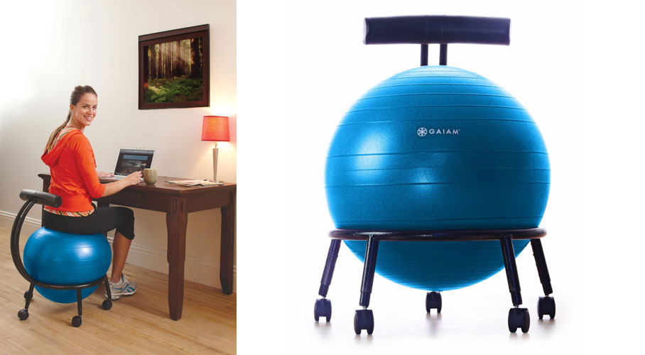 gaiam balance ball chair - really cool chairs