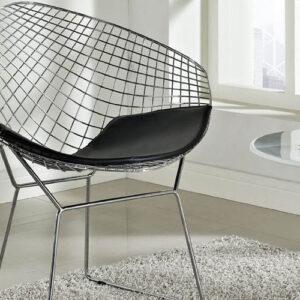 LexMod Diamond Chair