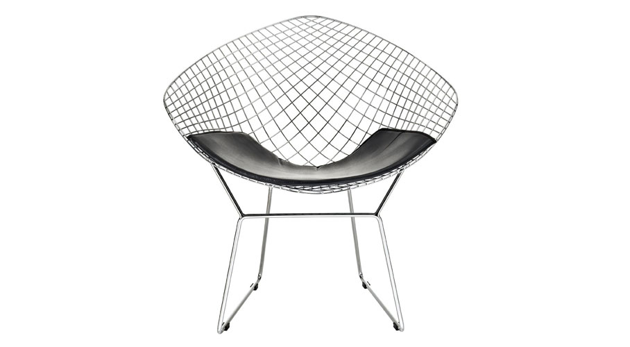 LexMod Diamond Chair