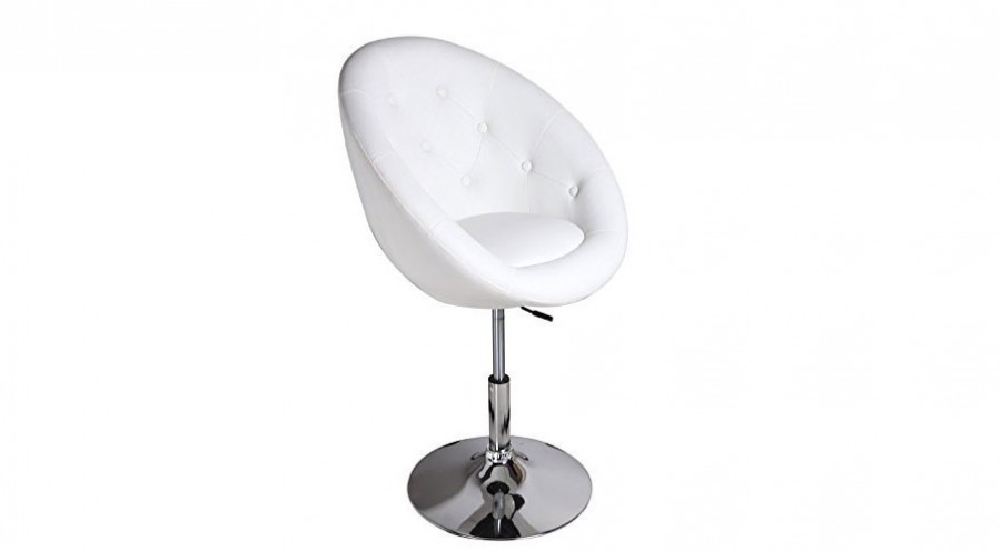 White Egg Shape Chair