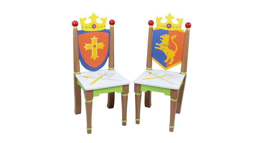 Knights and Dragon Chairs
