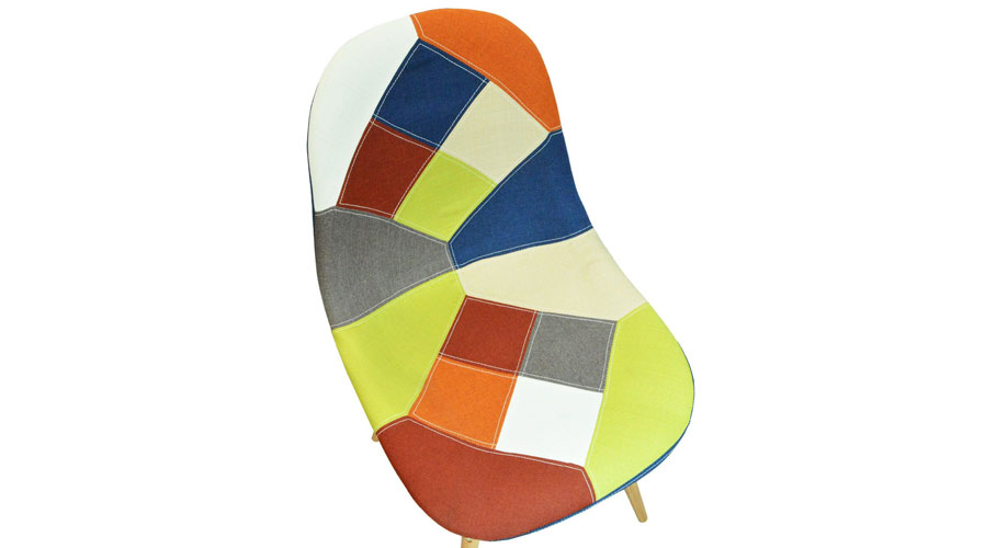 Retro Patchwork Chairs