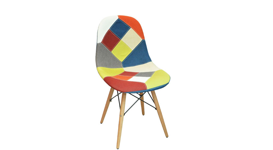 ... Retro Patchwork Chairs ...