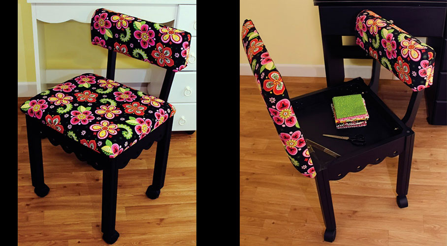 Arrow Home Sewing Chair