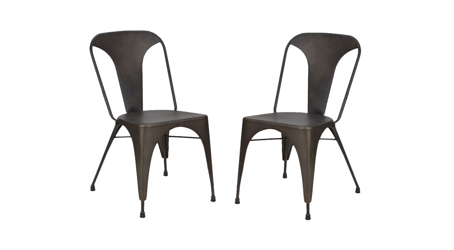 Joveco Metal Tolix Dining Chairs