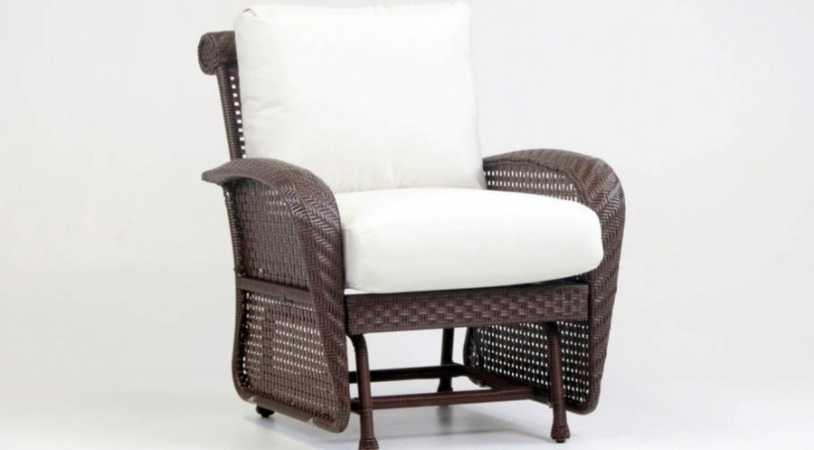 Martinique Wicker Glider