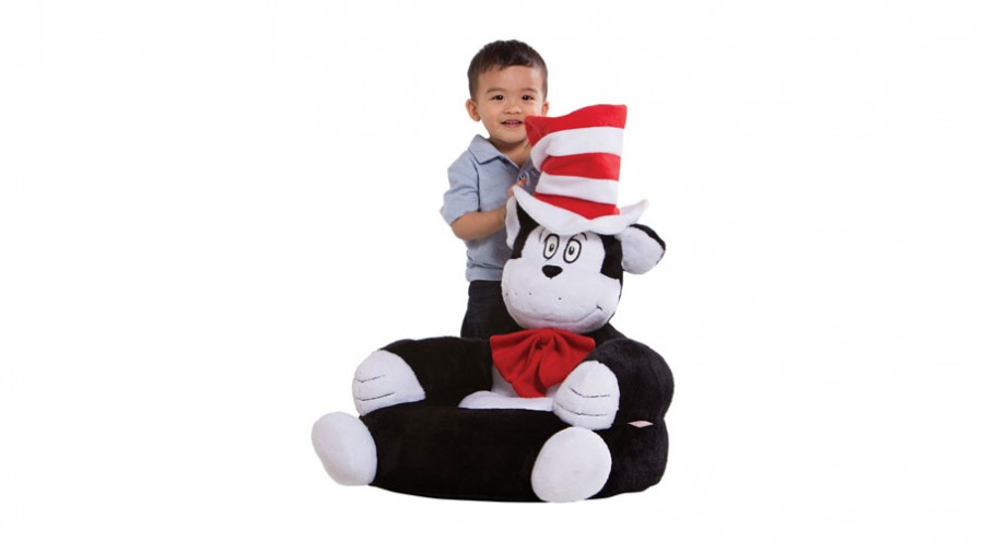 Dr Seuss Plush Kids Chair