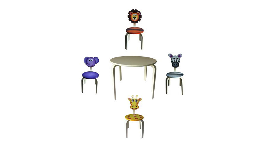 Inskeppa Safari Kids Chair