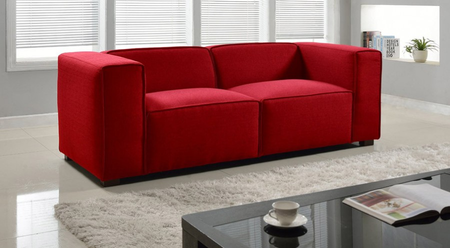 Modern Block Shaped Sofa