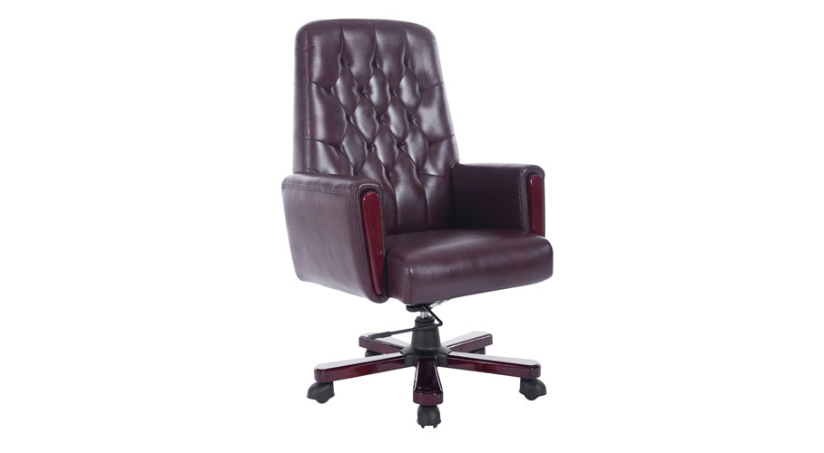 executive office chair chairs fabric serta reviews massage heat