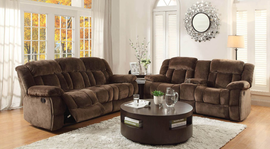 plush dual recliner loveseat - Loveseat Recliners