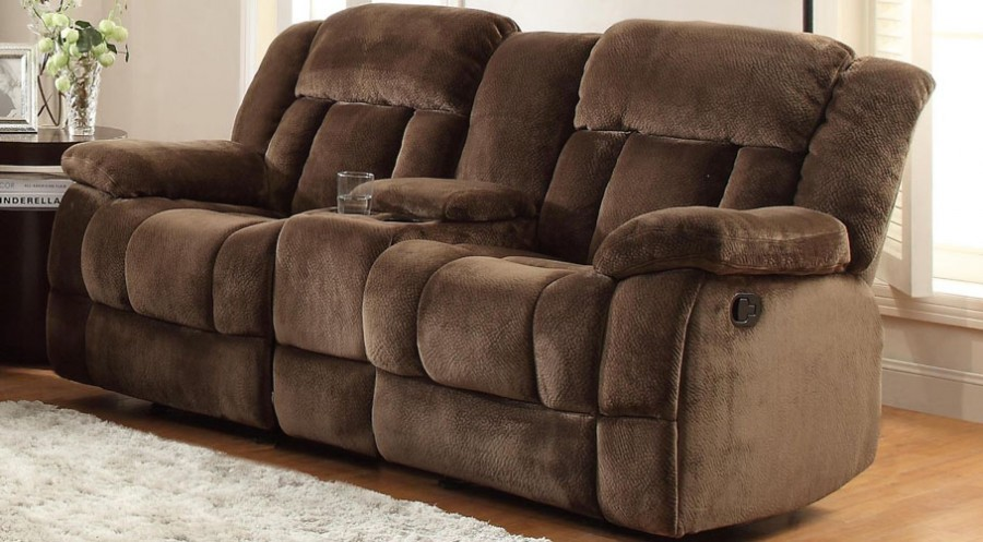 Plush Dual Recliner Loveseat