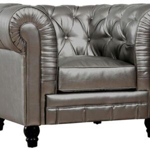 Zahara Leather Club Chair