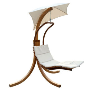 Swing Lounge Chair with Umbrella