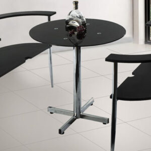 Curved Dining Chairs and Table