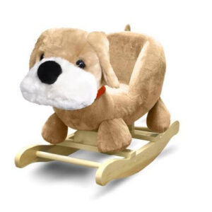Fluffy Dog Rocking Chair