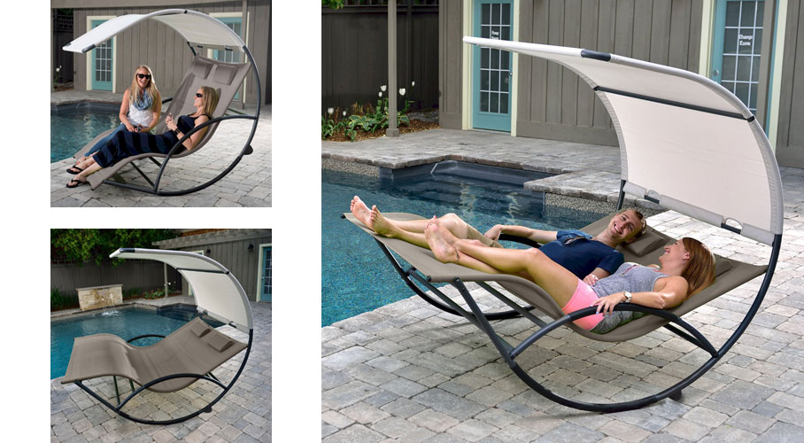 Vivere Double Chaise Rocker Really Cool Chairs