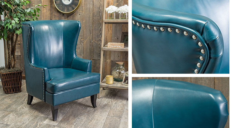 Jameson Leather Club Chair