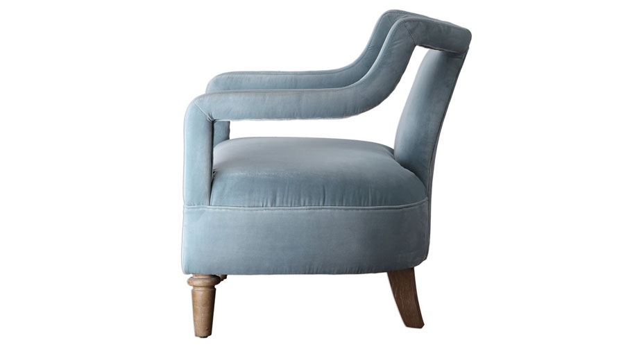 Ocean Blue Arm Chair