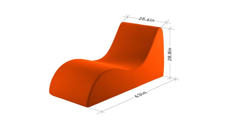 Vivon Foam Lounging Chair
