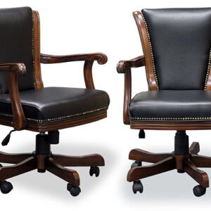 Mahogany Executive Game Chairs
