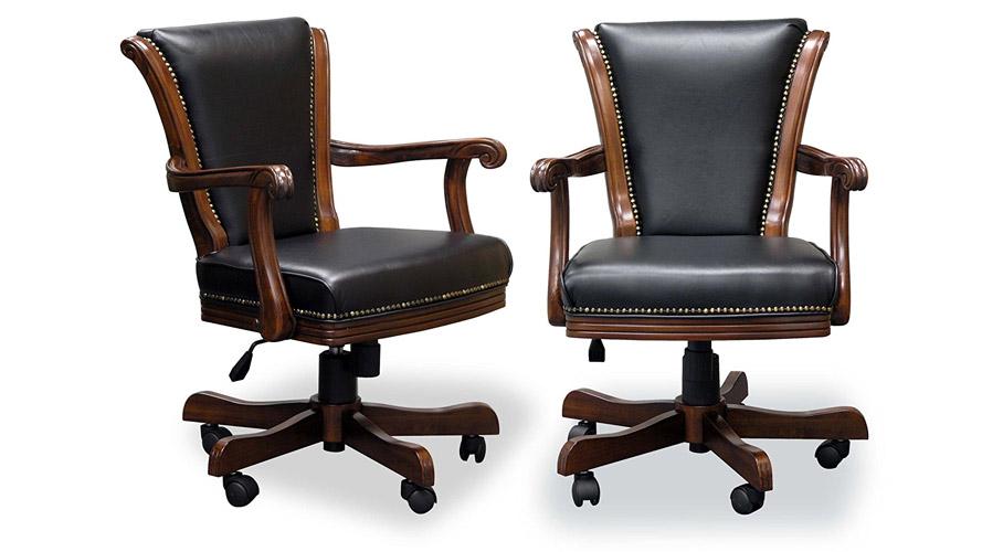 Mahogany Executive Game Chairs