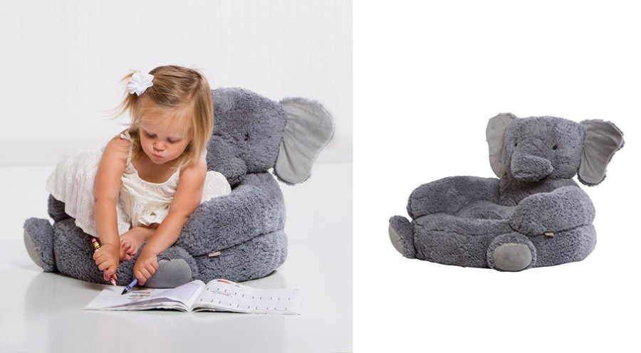 Elephant Plush Kids Chair