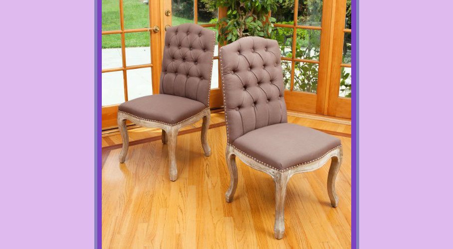 Jolie Mocha Dining Chairs