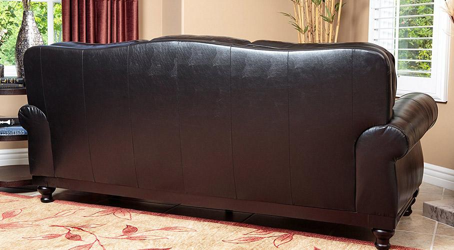 Abbyson Living Leather Sofa