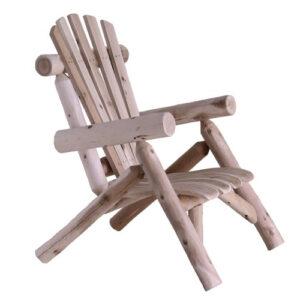 Lakeland Mills Cedar Log Chair