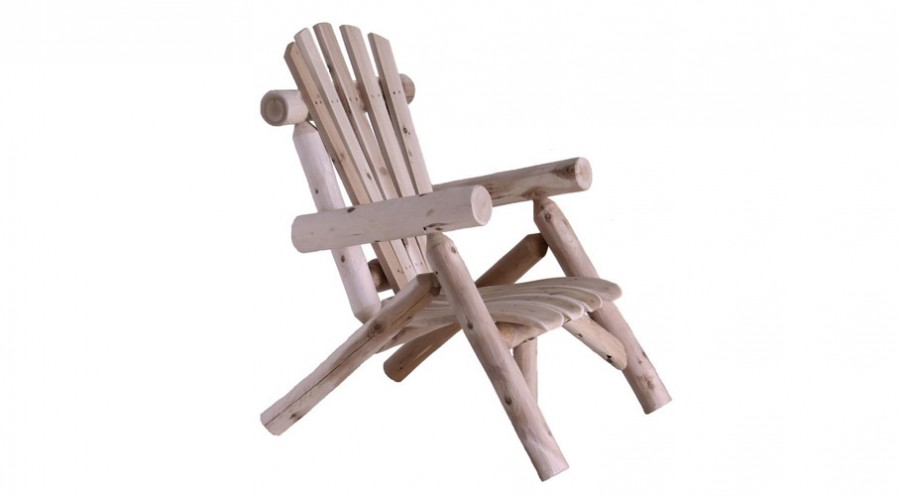 Lakeland Mills Cedar Log Chair