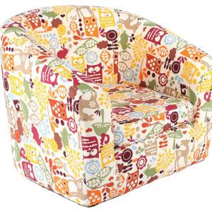 Kids Cartoon Owl Chair