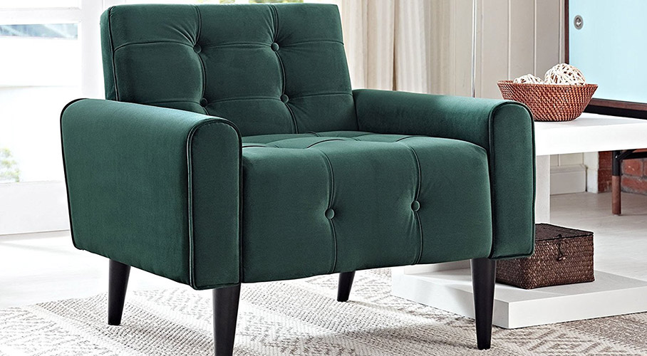 Modway Delve Velvet Armchair ...
