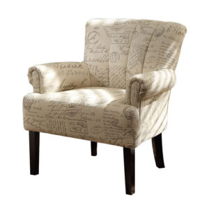 Homelegance Flared Arm Accent Chair