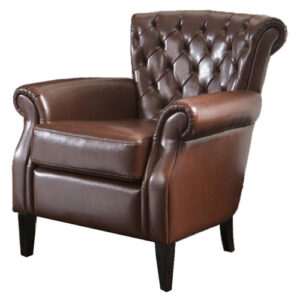 Franklin Leather Club Chair