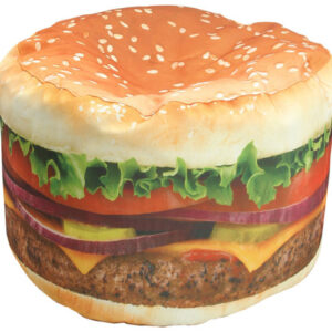 Kids Hamburger Beanbag Chair