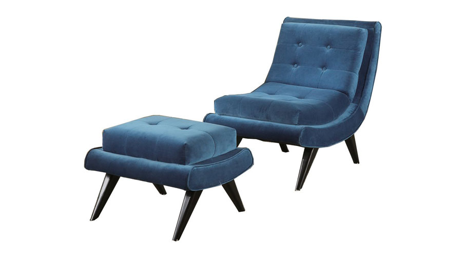Swayback Lounge Chair