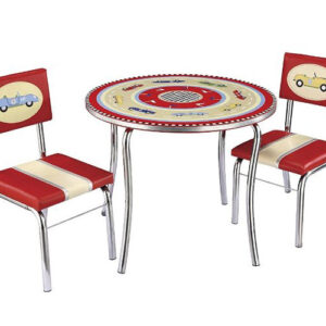 Retro Racers Table and Chair Set